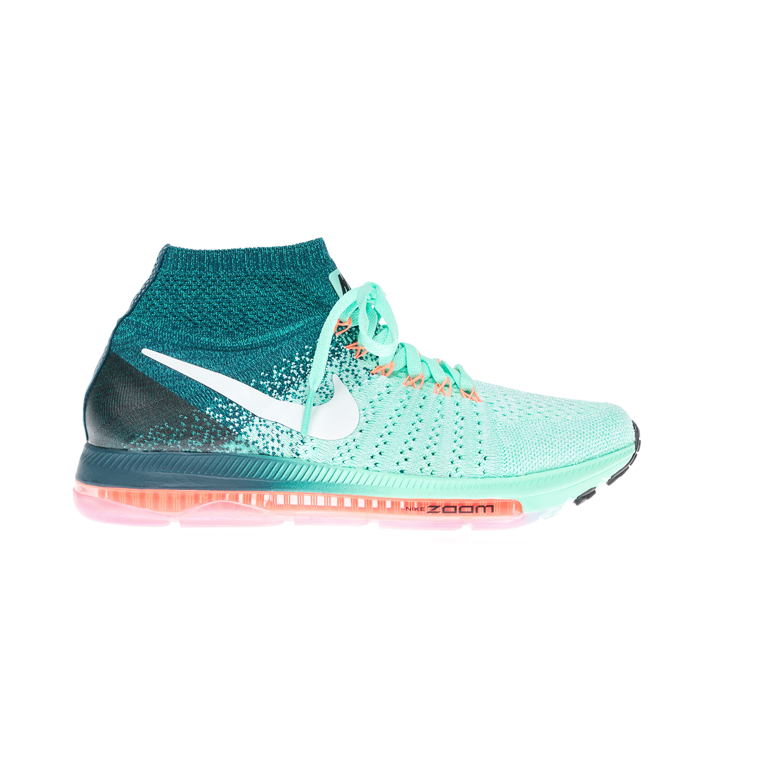 NIKE – Γυναικεί αθλητικά παπούτσια NIKE ZOOM ALL OUT FLYKNIT πράσινα