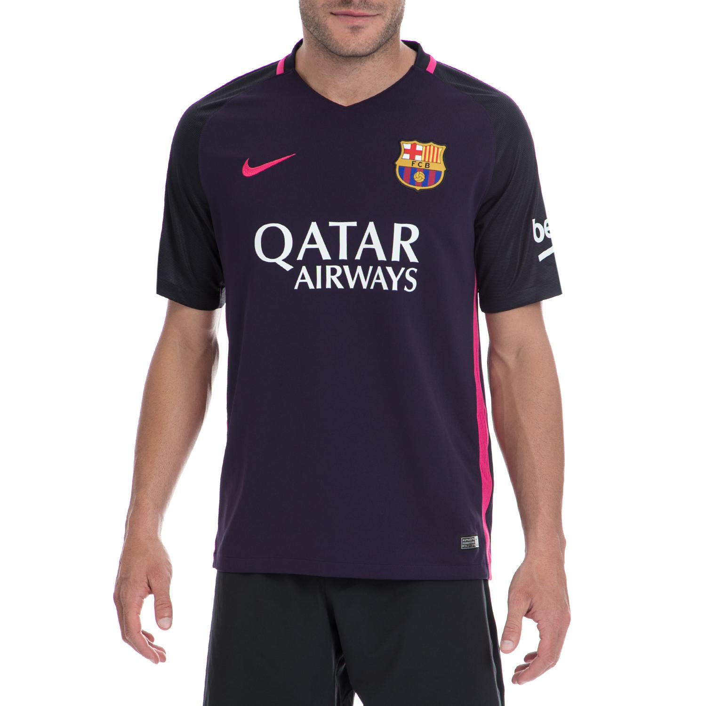 NIKE - Αντρική μπλούζα NIKE μοβ ανδρικά ρούχα αθλητικά t shirt
