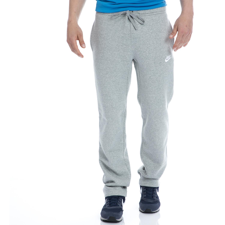 NIKE - Αντρικό αθλητικό παντελόνι NIKE γκρι ανδρικά ρούχα αθλητικά φόρμες