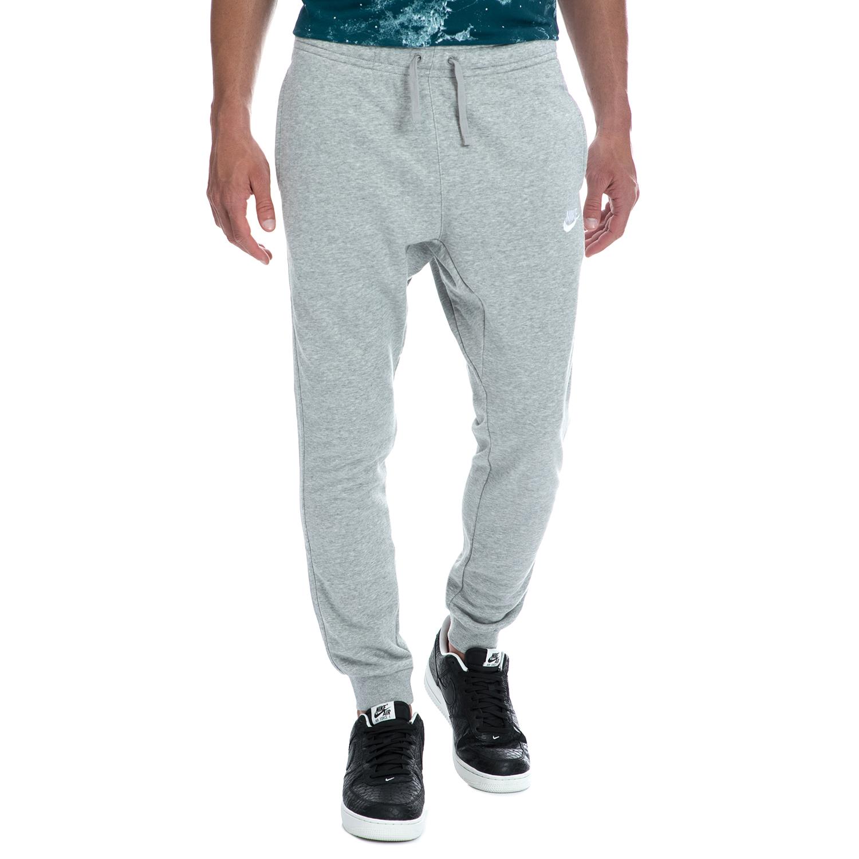 NIKE - Αντρικό παντελόνι NIKE γκρι ανδρικά ρούχα αθλητικά φόρμες