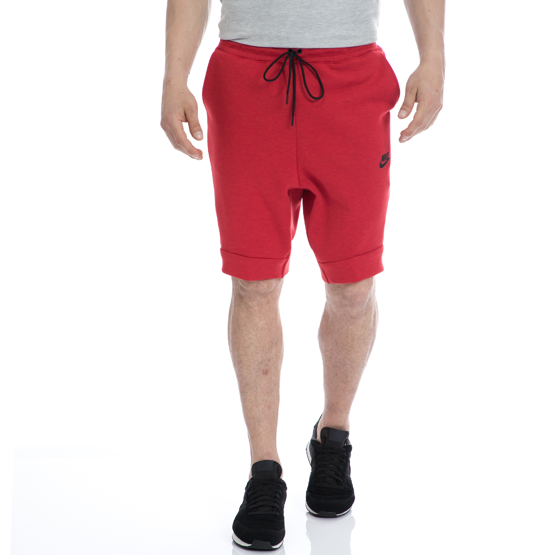 NIKE - Αντρική βερμούδα NIKE κόκκινη ανδρικά ρούχα σορτς βερμούδες αθλητικά