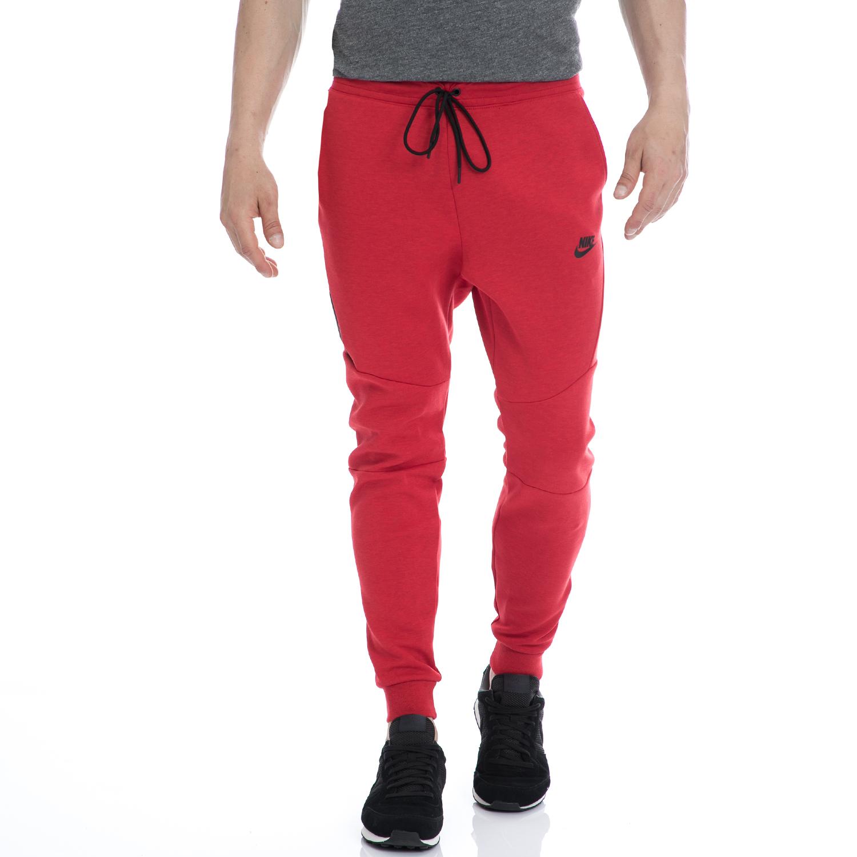 NIKE - Αντρικό αθλητικό παντελόνι NIKE κόκκινο ανδρικά ρούχα αθλητικά φόρμες