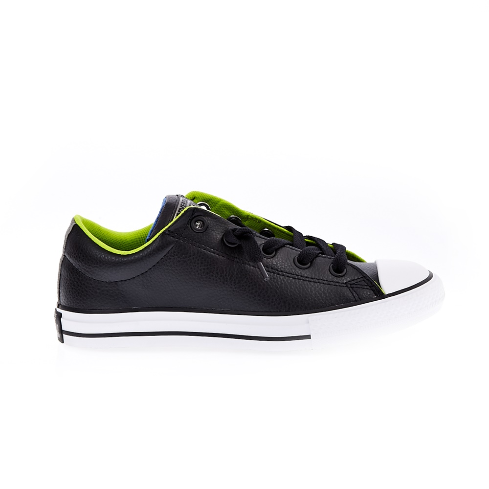 CONVERSE - Παιδικά παπούτσια Chuck Taylor All Star Street S μαύρα