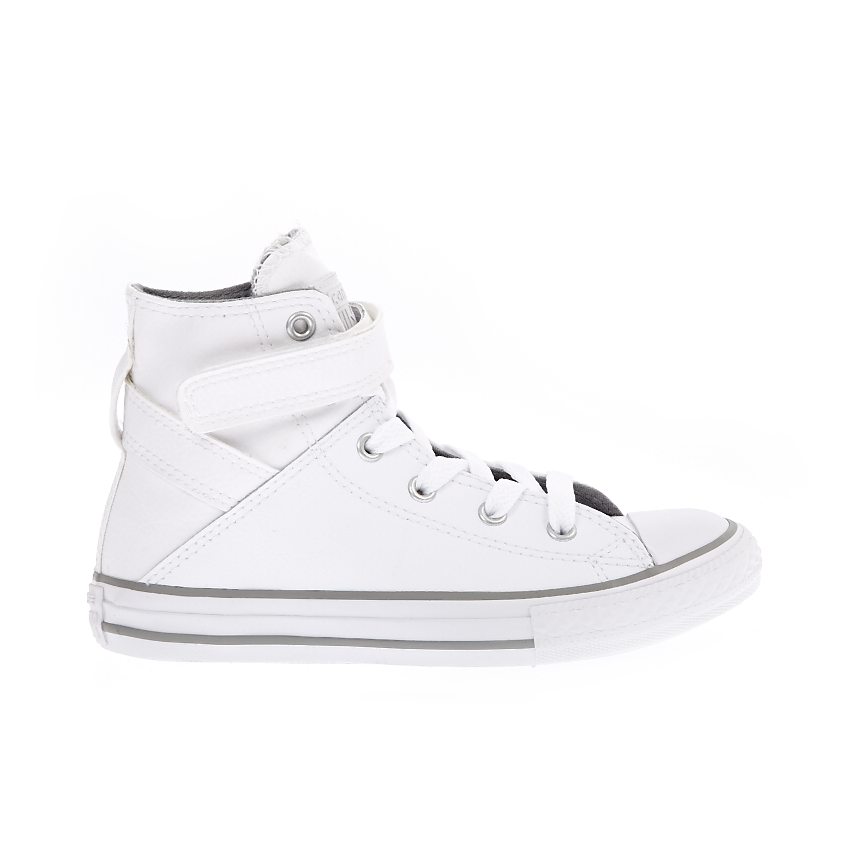 CONVERSE - Παιδικά παπούτσια Chuck Taylor All Star Brea Hi λευκά