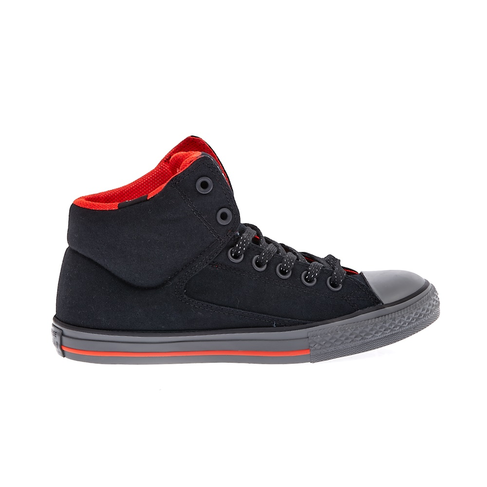 CONVERSE – Παιδικά παπούτσια Chuck Taylor All Star High Str μαύρα