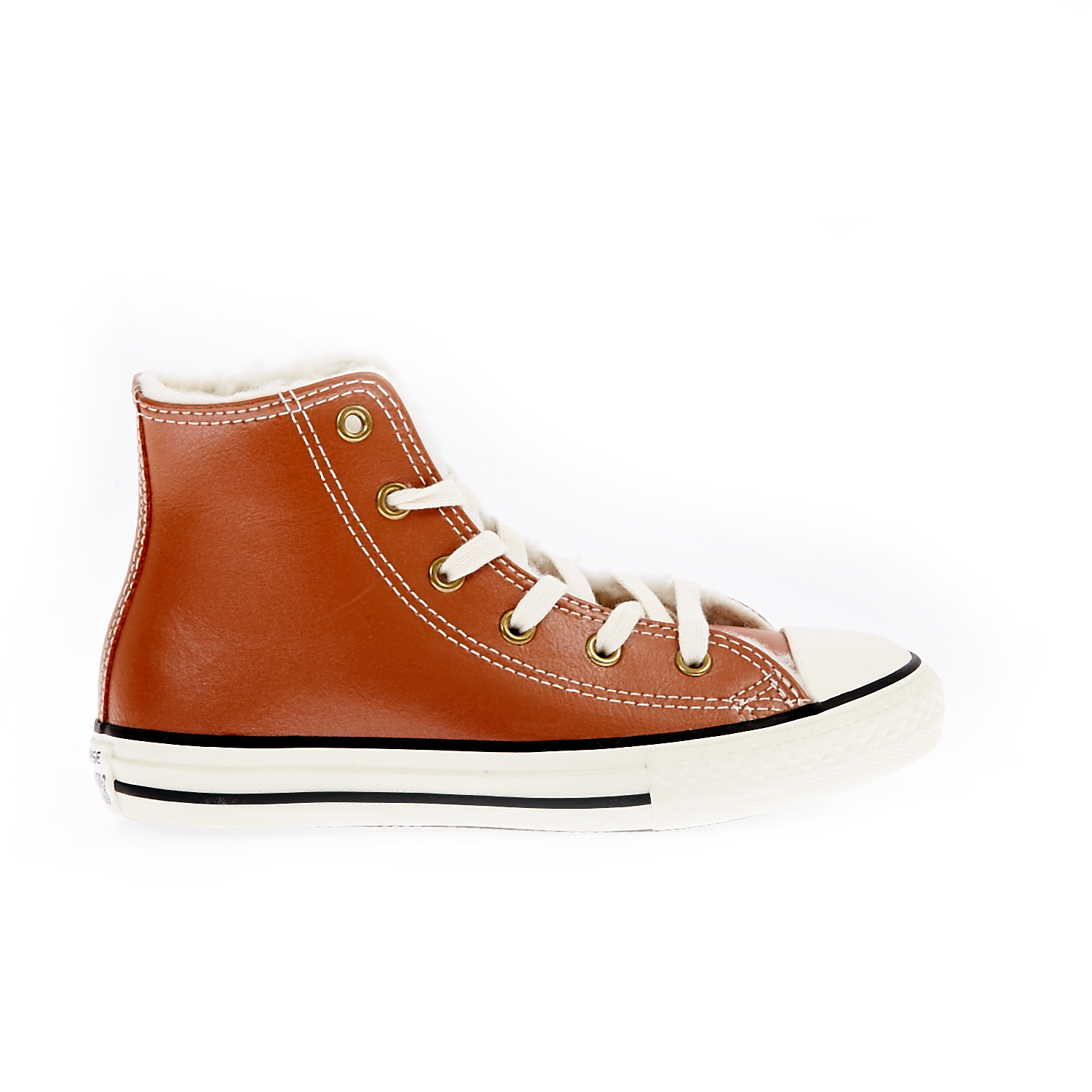 CONVERSE – Παιδικά παπούτσια Chuck Taylor All Star Hi καφέ