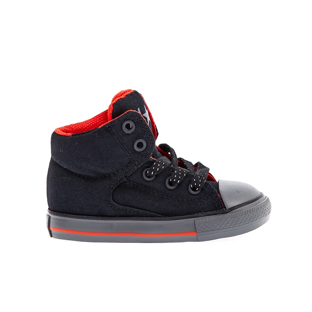 CONVERSE – Βρεφικά παπούτσια Chuck Taylor All Star High Str μαύρα