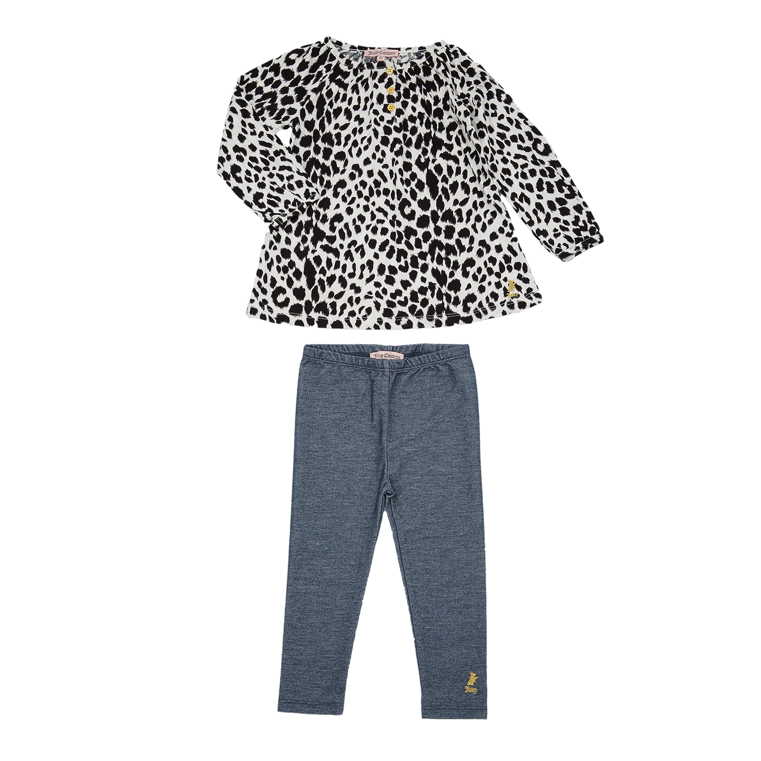 d2c73266be3 JUICY COUTURE KIDS - Βρεφικό σετ Juicy Couture γκρι