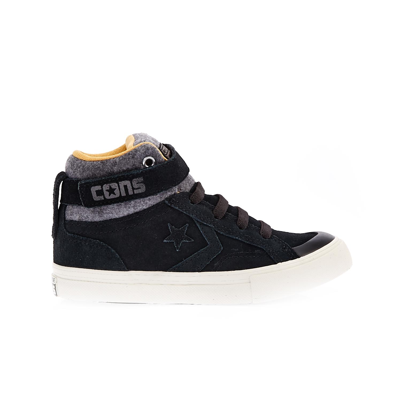 CONVERSE – Παιδικά παπούτσια Pro Blaze Strap HI μαύρα