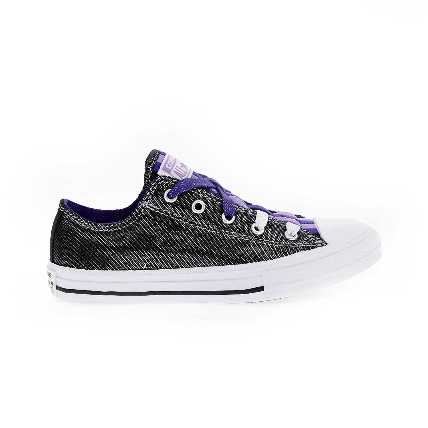 CONVERSE – Παιδικά παπούτσια Chuck Taylor All Star Loop ανθρακί
