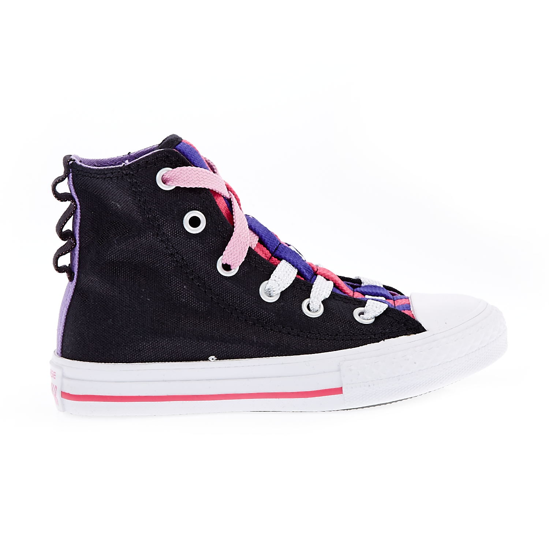 CONVERSE – Παιδικά παπούτσια Chuck Taylor All Star Loop HI μαύρα