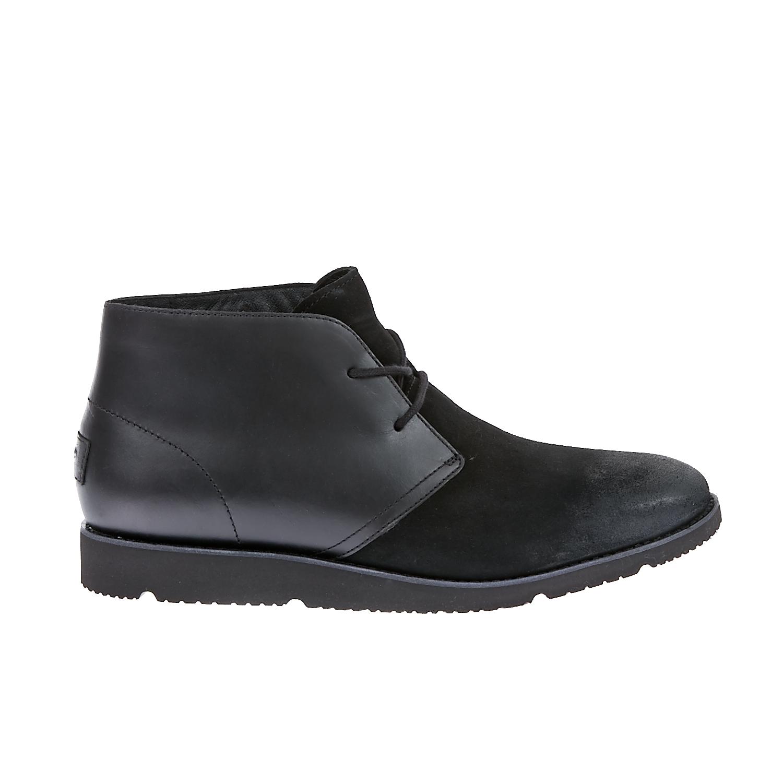 UGG AUSTRALIA - Ανδρικά παπούτσια Ugg Australia μαύρα ανδρικά παπούτσια μοκασίνια loafers
