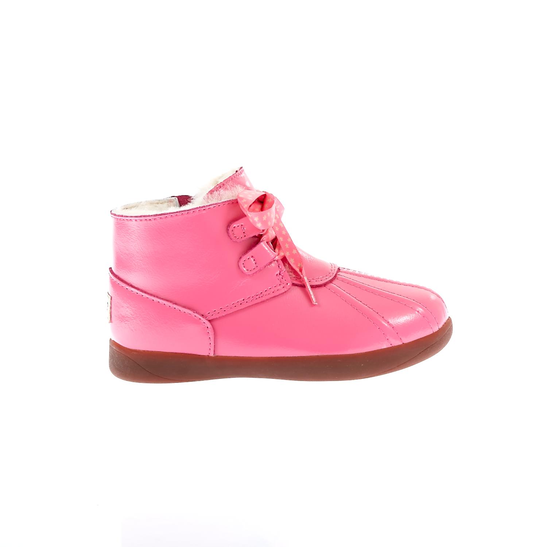 UGG AUSTRALIA - Βρεφικά παπούτσια Ugg Australia ροζ παιδικά baby παπούτσια μπότες μποτάκια