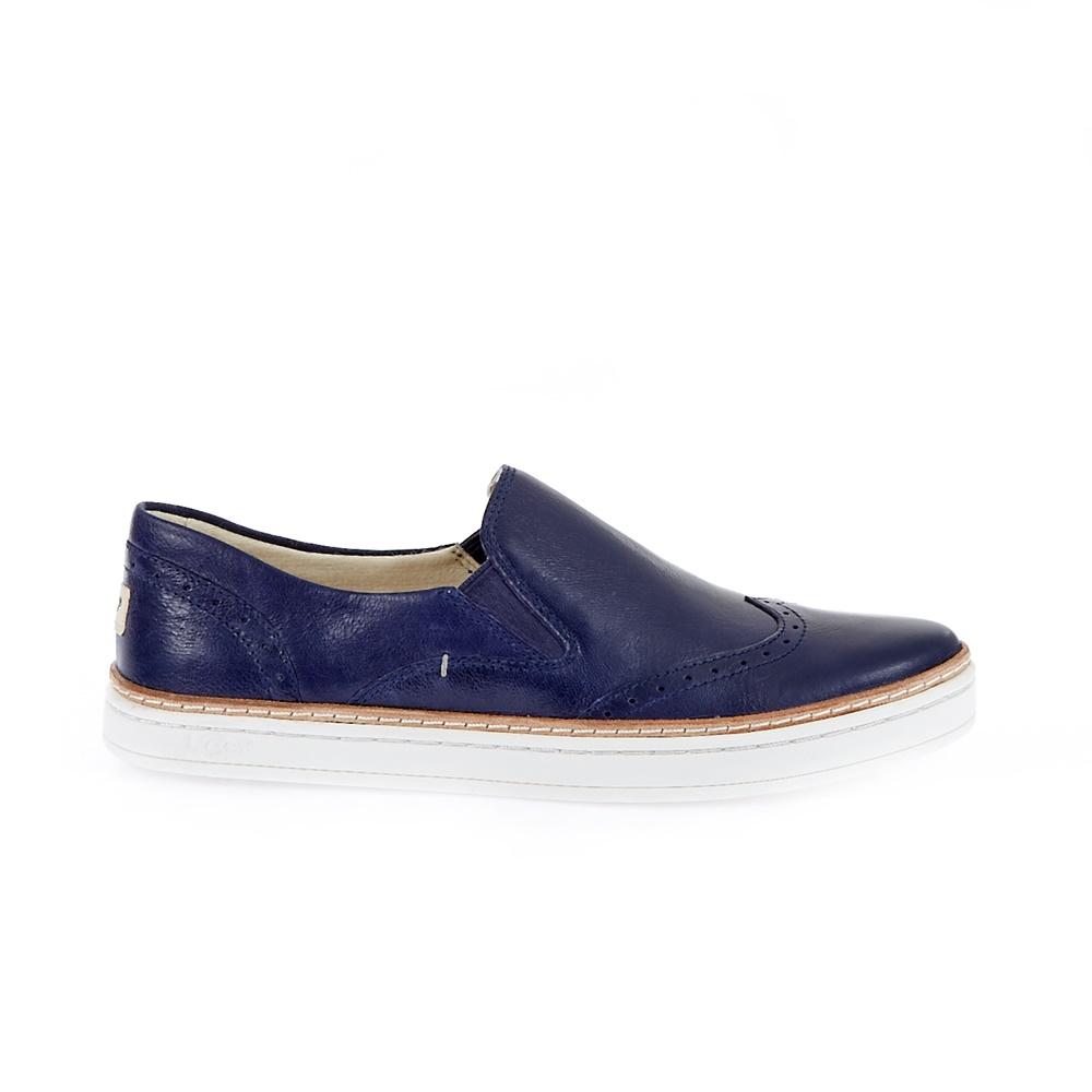 UGG AUSTRALIA - Γυναικεία παπούτσια Ugg Australia μπλε γυναικεία παπούτσια μοκασίνια μπαλαρίνες μοκασίνια