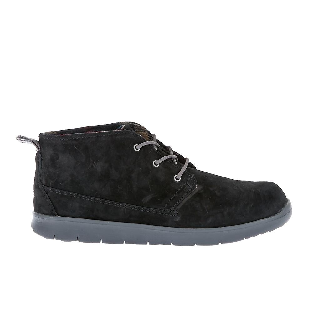 UGG AUSTRALIA - Παιδικά μποτάκια Ugg Australia μαύρα παιδικά boys παπούτσια μπότες μποτάκια