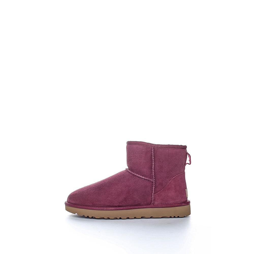 UGG AUSTRALIA - Γυναικεία μποτάκια UGG CLASSIC MINI II μωβ γυναικεία παπούτσια μπότες μποτάκια μποτάκια