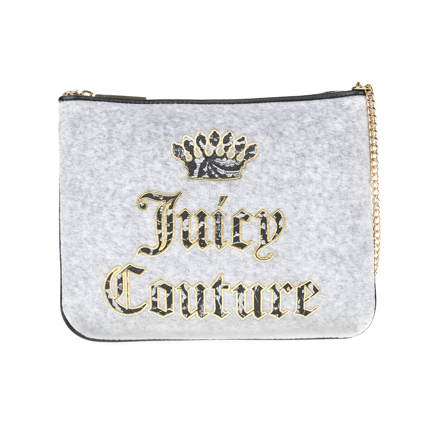 JUICY COUTURE - Γυναικεία τσάντα JUICY COUTURE γκρι