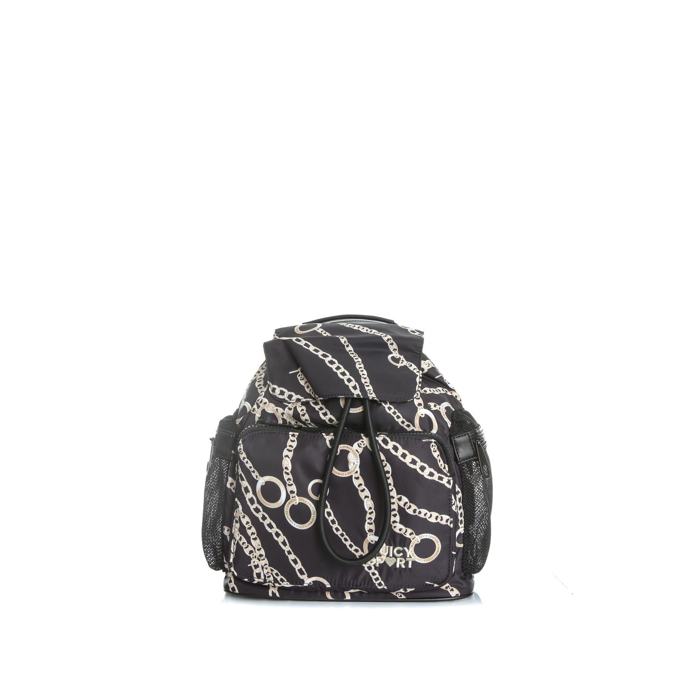 JUICY COUTURE – Γυναικείο backpack JUICY SPORT CHAIN μαύρο 1474554.0-00W1