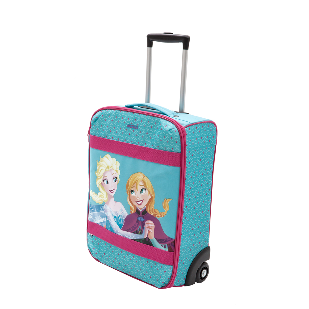 AMERICAN TOURISTER - Βαλίτσα FROZEN Disney by AMERICAN TOURISTER γαλάζια