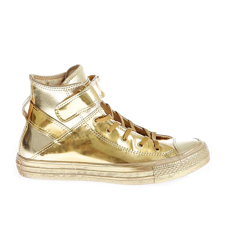 CONVERSE – Γυναικεία παπούτσια CT AS BREA HI χρυσή απόχρωση