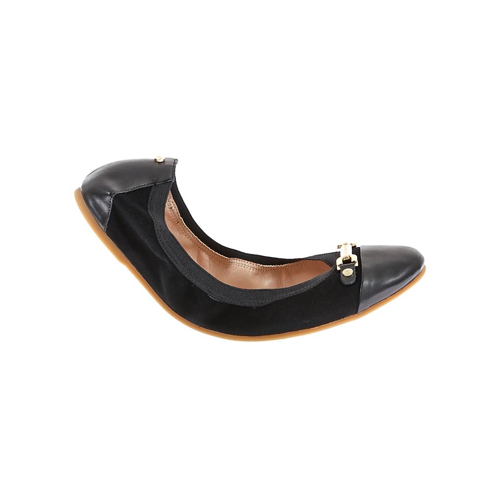 JUICY COUTURE - Γυναικείες μπαλαρίνες Juicy Couture μαύρες γυναικεία παπούτσια μοκασίνια μπαλαρίνες μπαλαρίνες