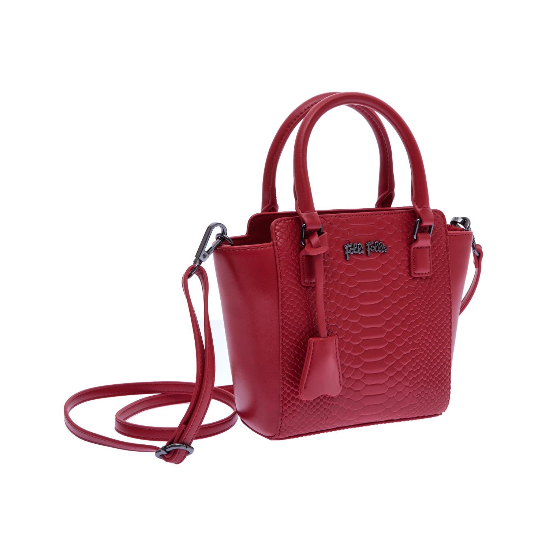 FOLLI FOLLIE – Γυναικεία τσάντα Folli Follie κόκκινη 1480026.0-0000