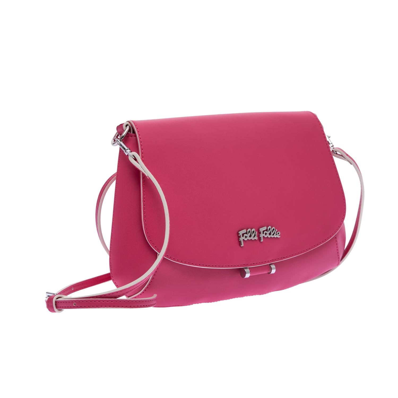 FOLLI FOLLIE – Γυναικεία τσάντα Folli Follie φούξια 1480048.0-0000