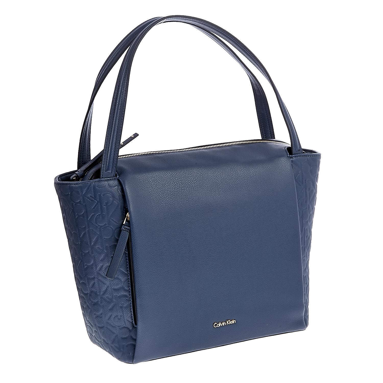 CALVIN KLEIN JEANS – Γυναικεία τσάντα Calvin Klein Jeans μπλε 1480388.0-0019
