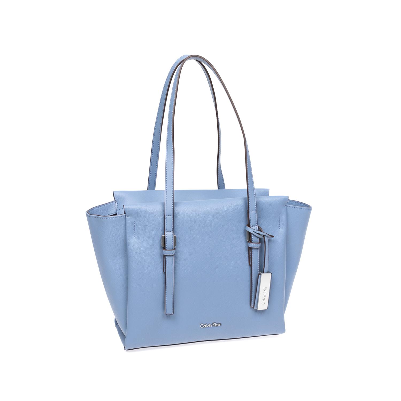 CALVIN KLEIN JEANS – Γυναικεία τσάντα Calvin Klein Jeans μπλε 1480394.0-1300