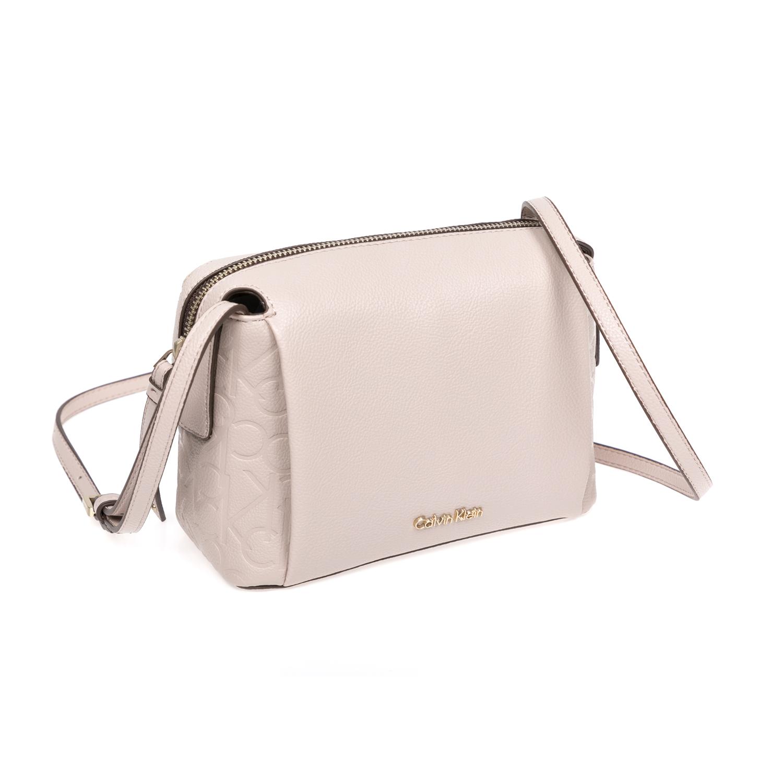 CALVIN KLEIN JEANS – Γυναικεία τσάντα Calvin Klein Jeans μπεζ 1480436.0-00M6