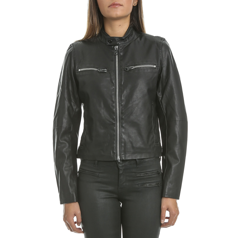 G-STAR RAW - Γυναικείο jacket G-Star Raw Mower slim μαύρο γυναικεία ρούχα πανωφόρια τζάκετς
