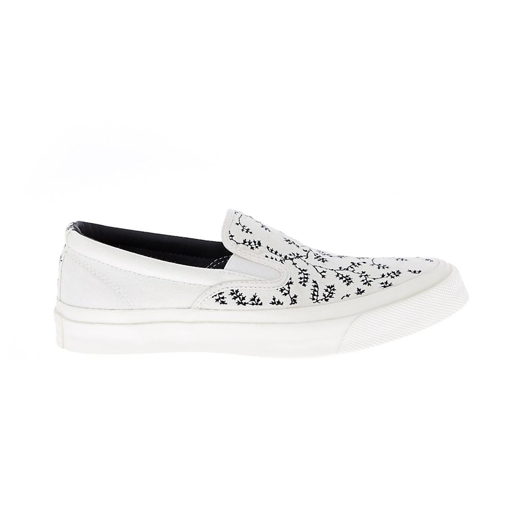 CONVERSE – Unisex παπούτσια CTAS DECK STAR SLIP '67 λευκά