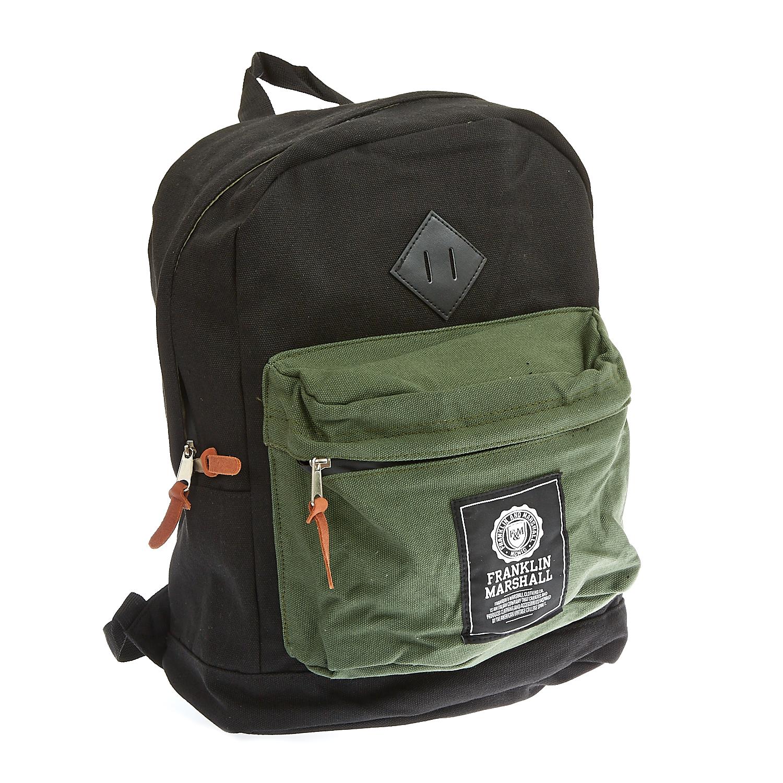FRANKLIN & MARSHALL - Τσάντα πλάτης Franklin & Marshall μαύρη γυναικεία αξεσουάρ τσάντες σακίδια πλάτης