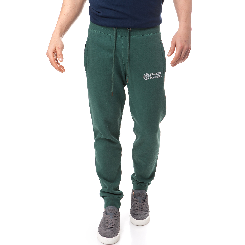 FRANKLIN & MARSHALL - Ανδρική φόρμα Franklin & Marshall πράσινη ανδρικά ρούχα αθλητικά φόρμες