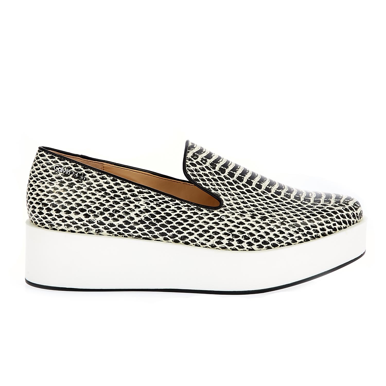 CALVIN KLEIN JEANS – Γυναικεία παπούτσια Calvin Klein Jeans μαύρα-λευκά