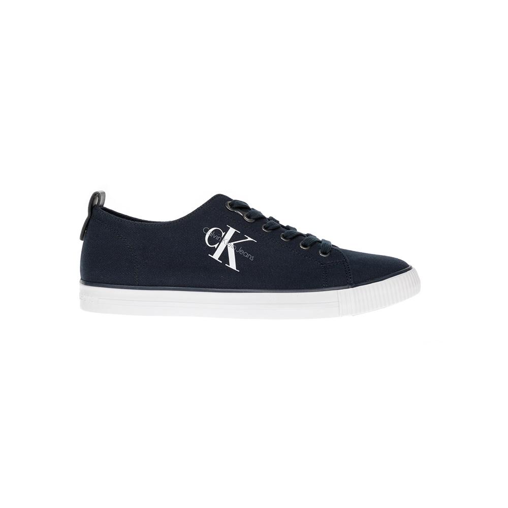 CALVIN KLEIN JEANS – Αντρικά παπούτσια CALVIN KLEIN JEANS μπλε
