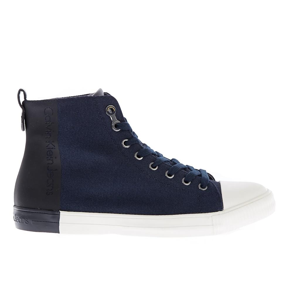 CALVIN KLEIN JEANS – Ανδρικά sneakers CALVIN KLEIN JEANS ARNAUD μπλε