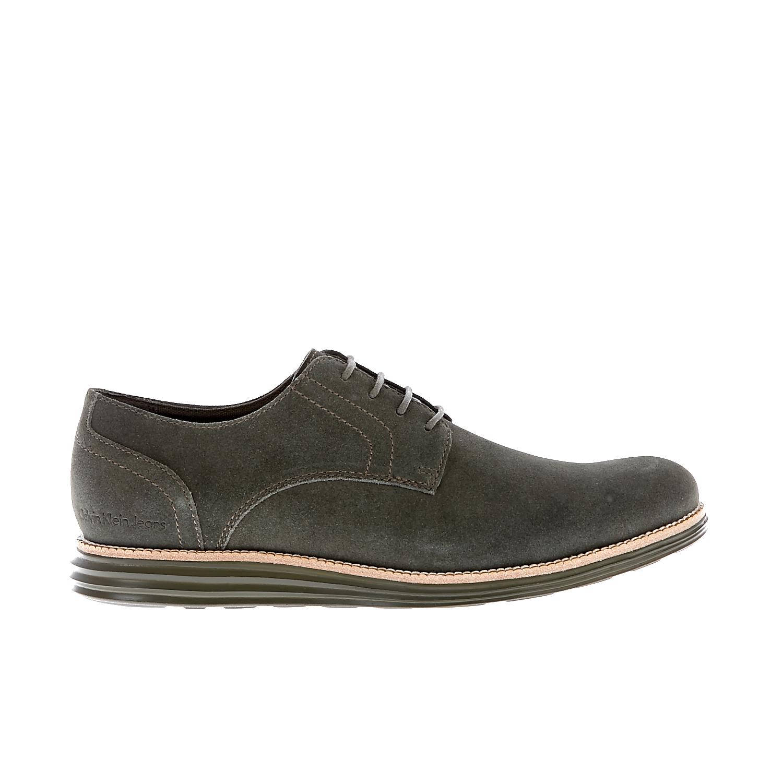CALVIN KLEIN JEANS – Ανδρικά παπούτσια Calvin Klein Jeans λαδί