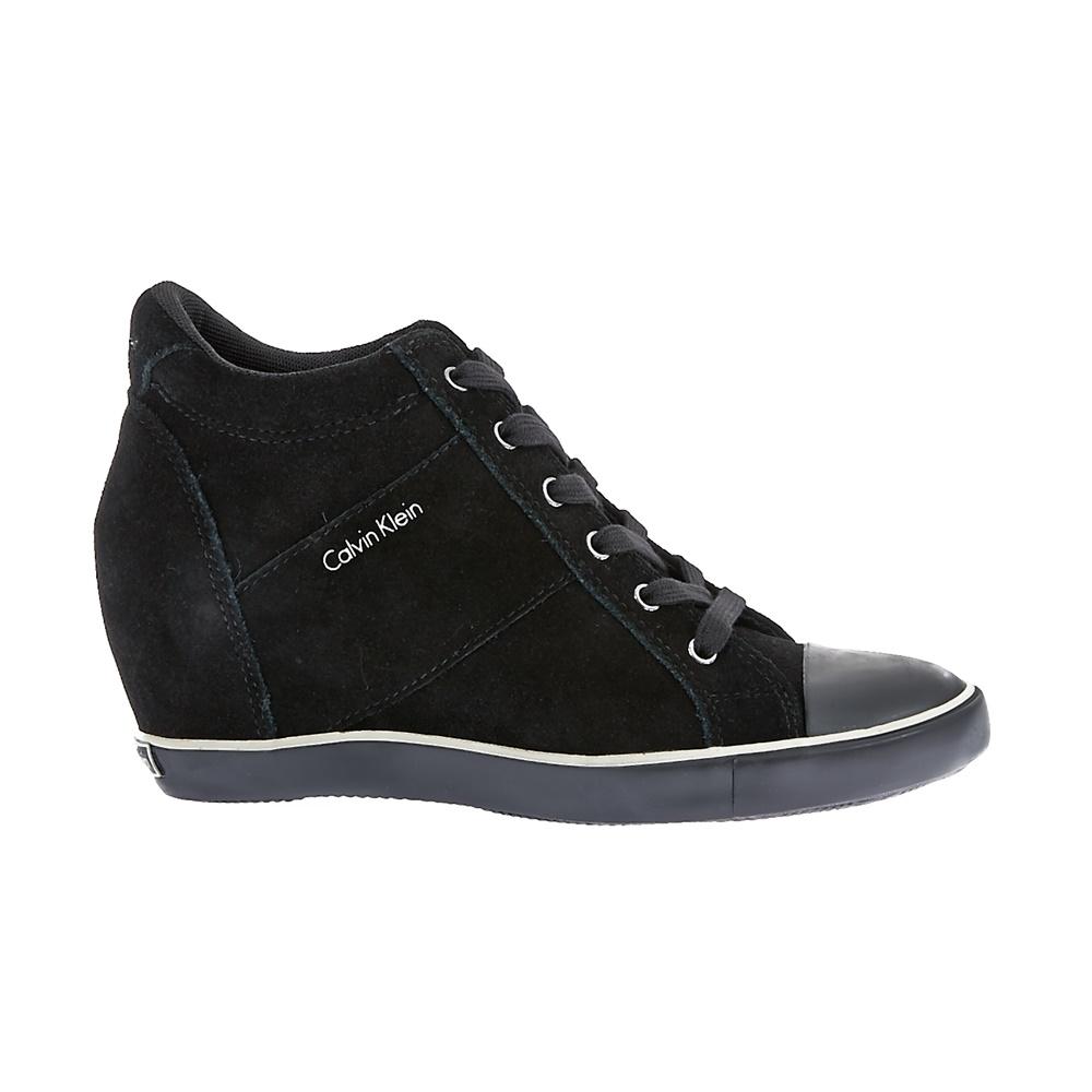 CALVIN KLEIN JEANS - Γυναικεία sneakers Calvin Klein Jeans μαύρα γυναικεία παπούτσια μπότες μποτάκια μποτάκια