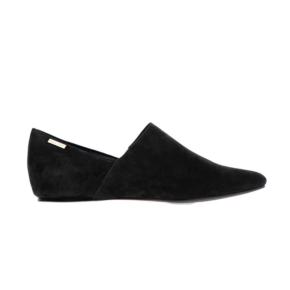 CALVIN KLEIN JEANS – Γυναικεία μοκασίνια Calvin Klein Jeans μαύρα