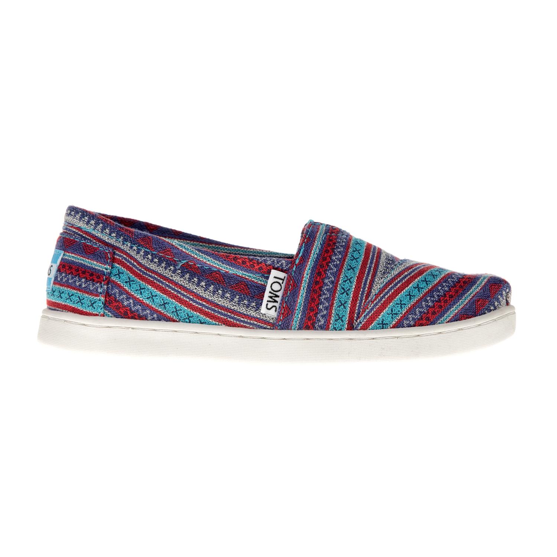 TOMS – Παιδικά slip on παπούτσια TOMS μπλε