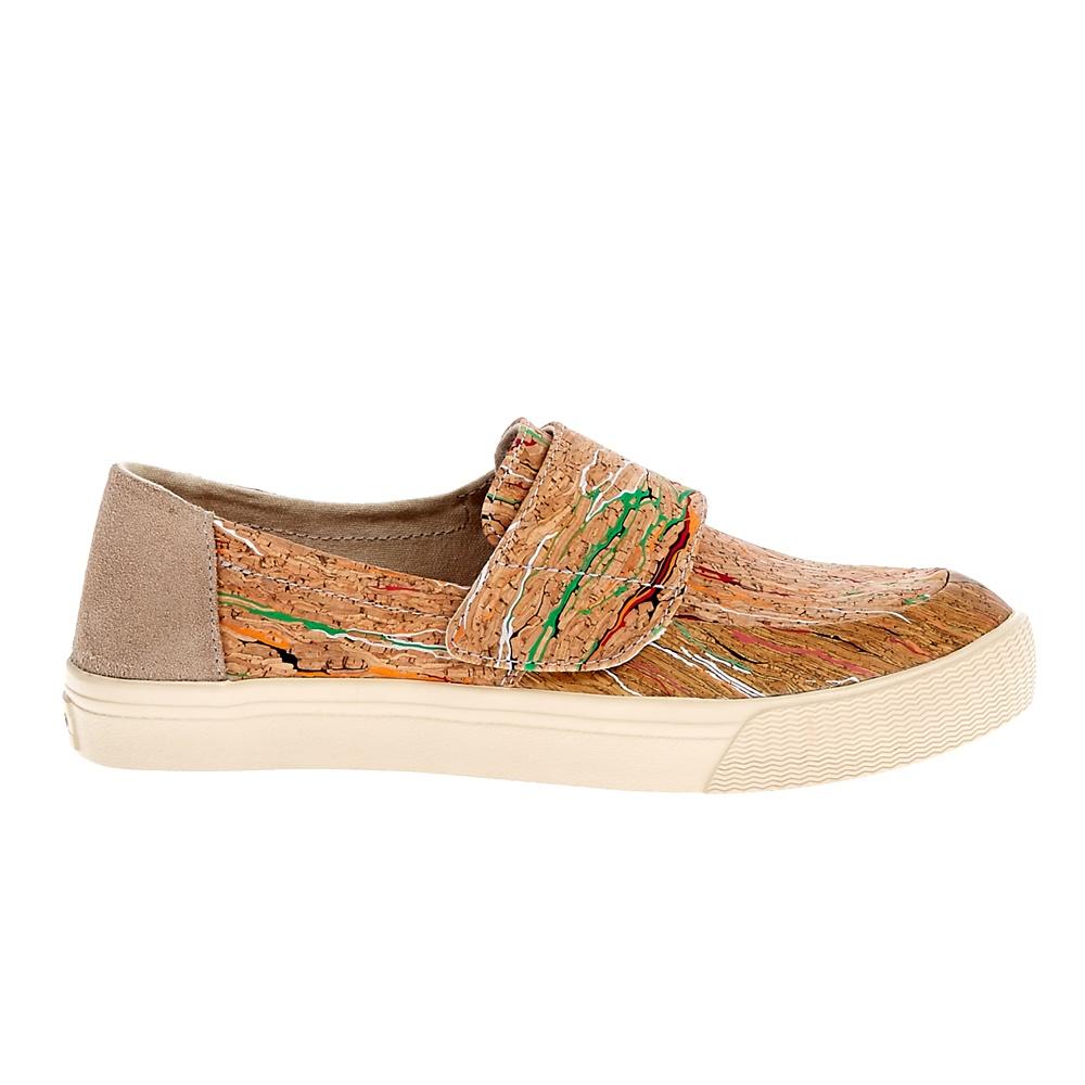 TOMS - Γυναικεία παπούτσια TOMS καφέ γυναικεία παπούτσια μοκασίνια μπαλαρίνες μοκασίνια