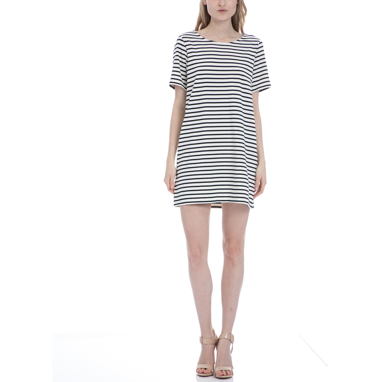 AMERICAN VINTAGE - Γυναικείο φόρεμα American Vintage λευκό γυναικεία ρούχα φορέματα μίνι