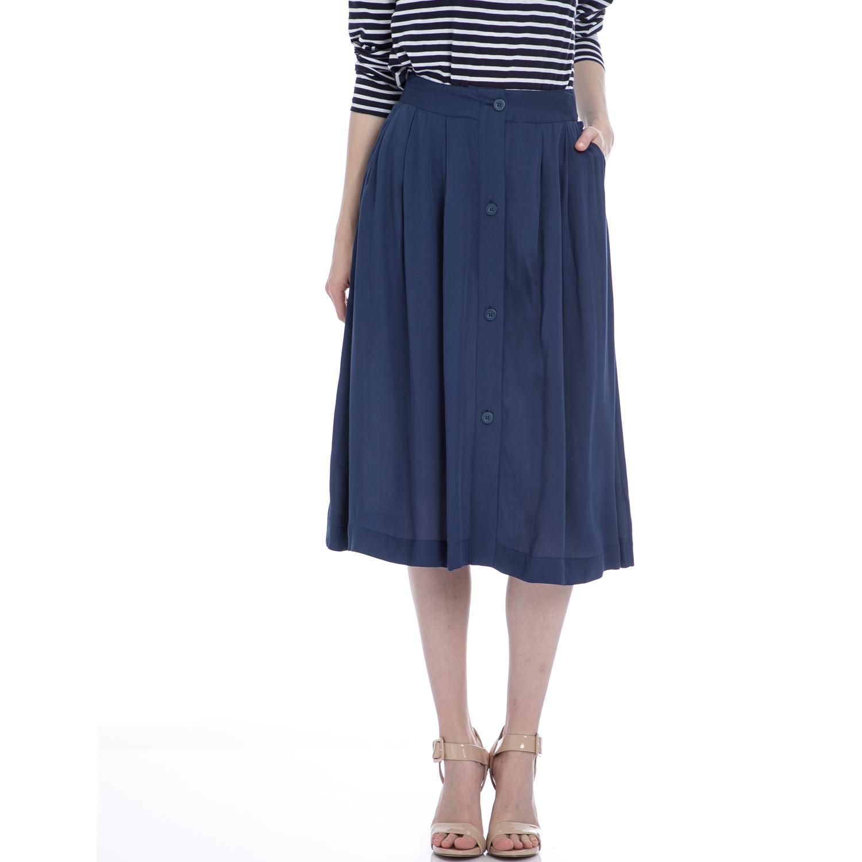 AMERICAN VINTAGE - Γυναικεία φούστα American Vintage μπλε γυναικεία ρούχα φορέματα μέχρι το γόνατο