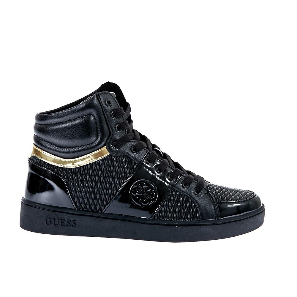 GUESS - Γυναικεία παπούτσια Guess μαύρα γυναικεία παπούτσια sneakers