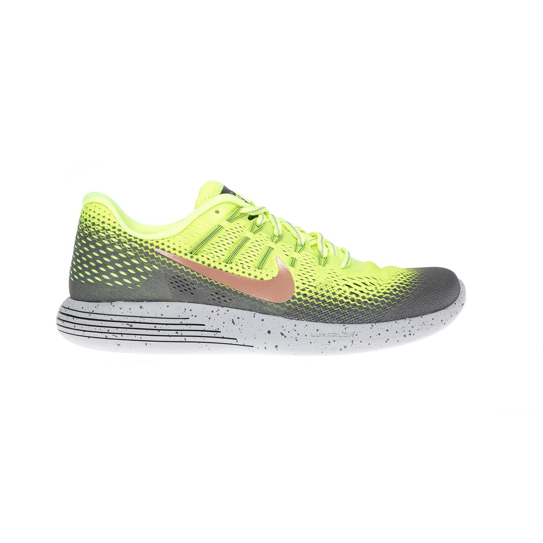 NIKE – Αντρικά παπούτσια NIKE LUNARGLIDE 8 SHIELD κίτρινα-γκρι