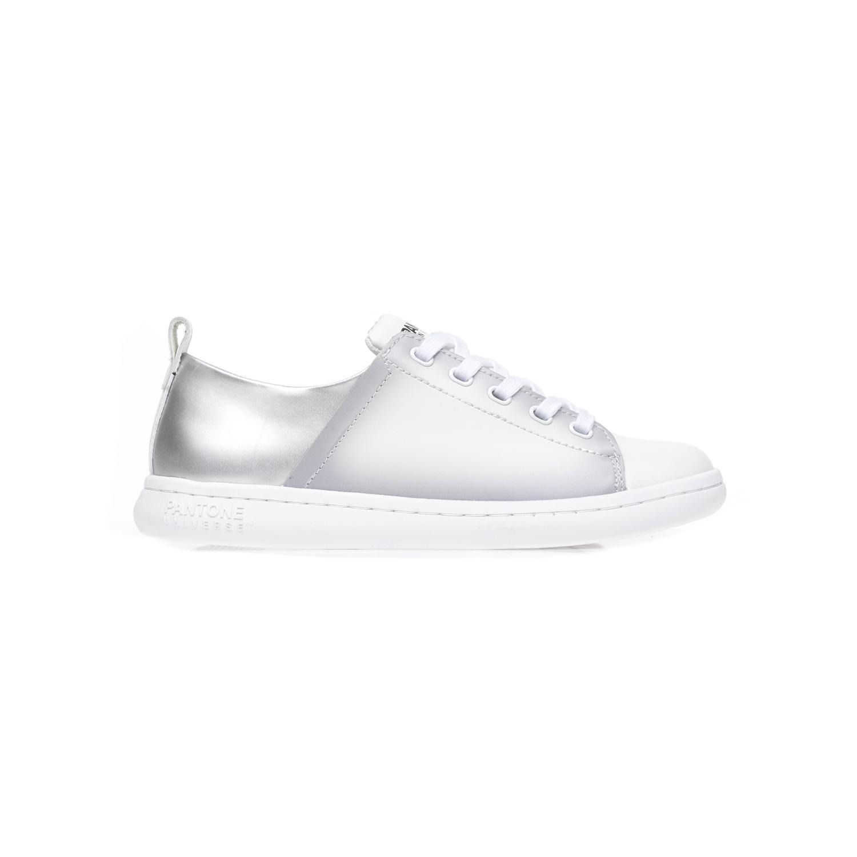 PANTONE – Unisex παπούτσια PANTONE λευκά-γκρι