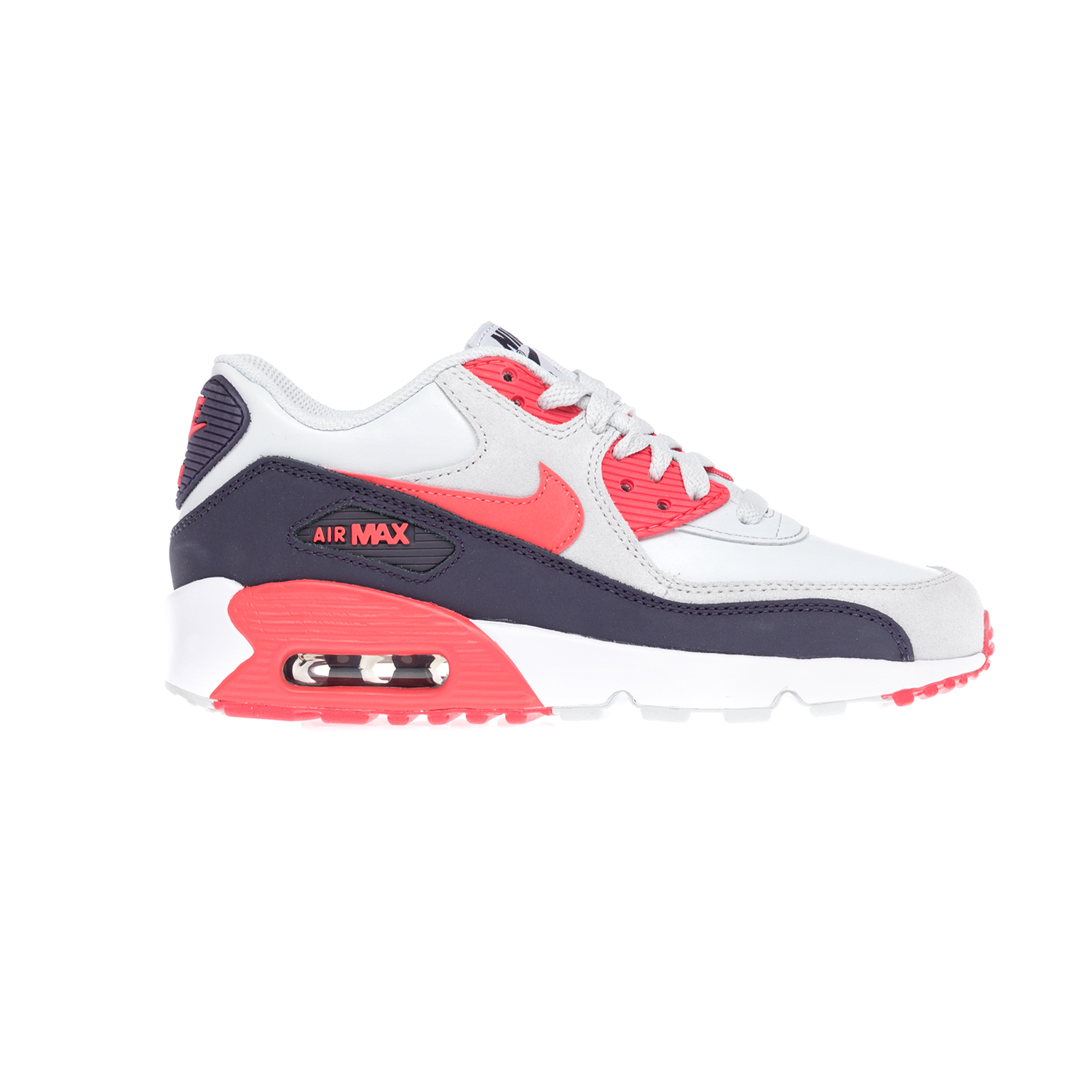 NIKE – Παιδικά παπούτσια NIKE AIR MAX 90 LTR (GS) άσπρα-μπλε