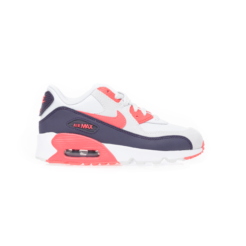 NIKE – Παιδικά αθλητικά παπούτσια NIKE AIR MAX 90 LTR άσπρα