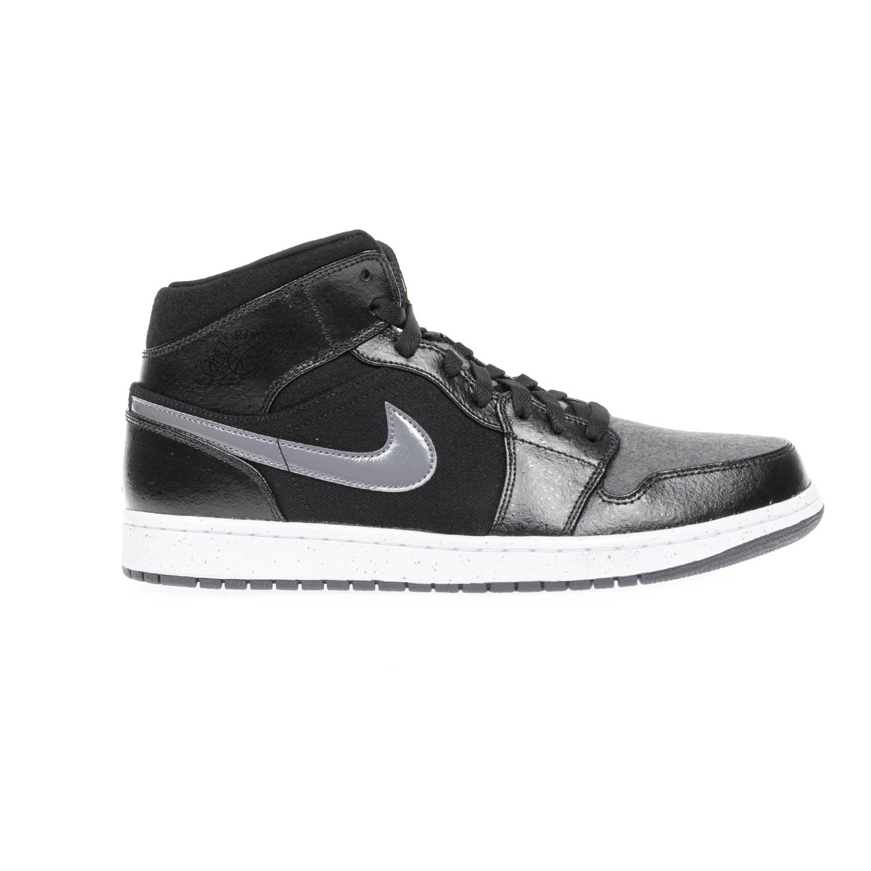 NIKE – Αντρικά αθλητικά παπούτσια NIKE AIR JORDAN 1 MID μαύρα